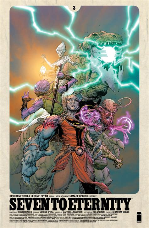 seven to eternity volume seven to eternity is the stunningly gorgeous fantasy about our awful reality we need right now