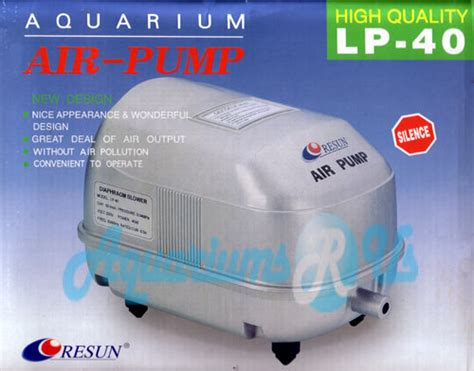 aquariums r us large diaphragm air pumps