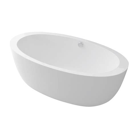 58 Bathtub Home Depot by Anzzi Yield 5 58 Ft Acrylic Flatbottom Non Whirlpool