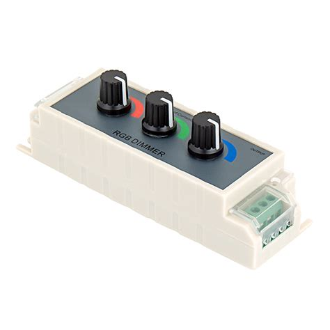 led light dimmer three color rgb led dimmer rgb led dimmer switches led