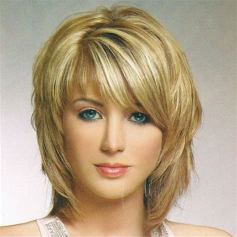 stacked shaggy haircuts short to medium length stacked cut hair styles pictures of