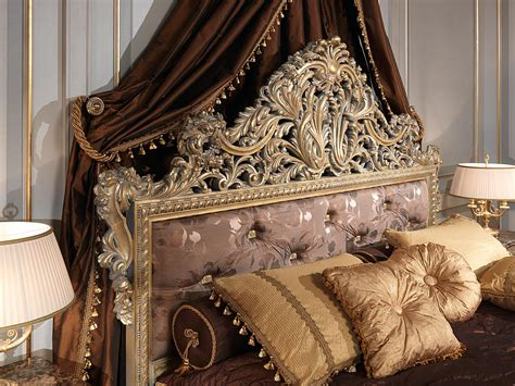 classic louis xv emperador gold bedroom capitonne
