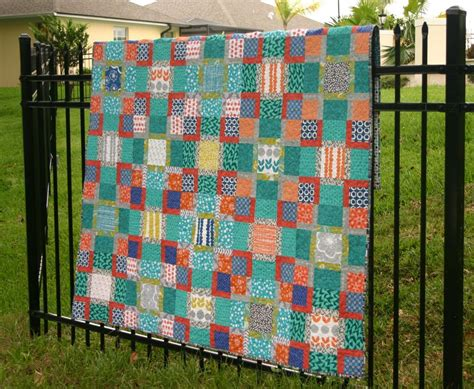 Square Patchwork Quilt Pattern - patchwork quilting for beginners patterns to try