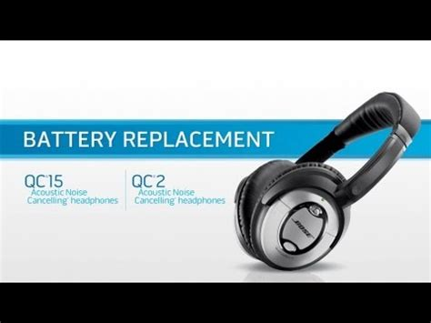 bose quiet comfort battery how to replace the battery of your bose quietcomfort 15 or
