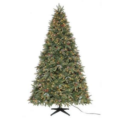 martha stewart living 7 5 ft andes fir quick set