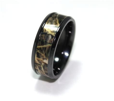 titanium camo wedding rings mossy oak camo wedding rings