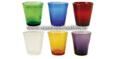 bicchieri villa d este bicchieri da acqua cancun 5 pz colori assortiti villa d