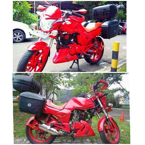 Modifikasi Vespa Warna Merah by Jual Honda Tiger 1997 Warna Merah Modifikasi Gaya Touring