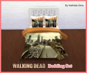 the walking dead bedding set at nathalia sims 187 sims 4 updates