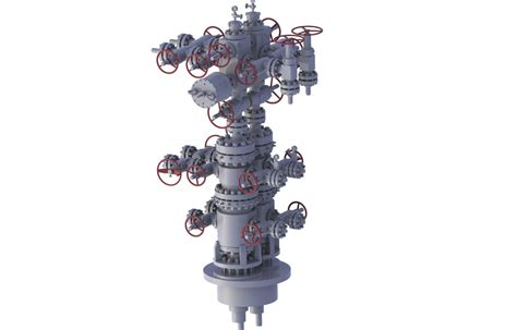 thermal recovery wellhead christmas tree gas recovery