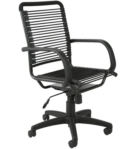 Bungee Chair Office - bungee high back office chair all black in office chairs