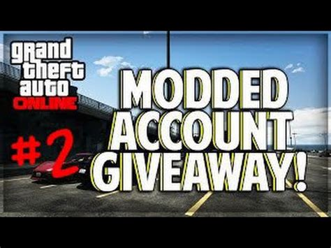 Gta 5 Giveaway - gta 5 modded account giveaway ps3 4 2 gesloten youtube