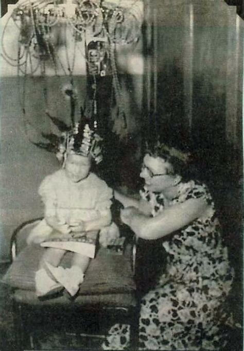 perms in the 1930s permanent wave machine for shirley temple curls