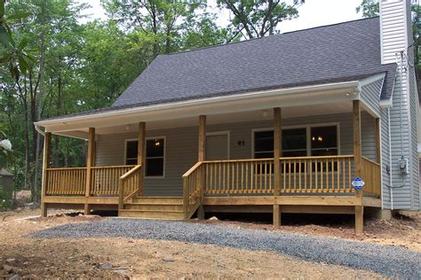 covered front porch plans faux log cabin log style vinyl panels rustic cabin look