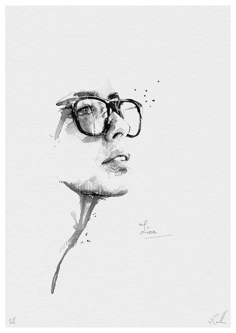 Pencil Portrait Mastery - Spontaneous and Realistic Black