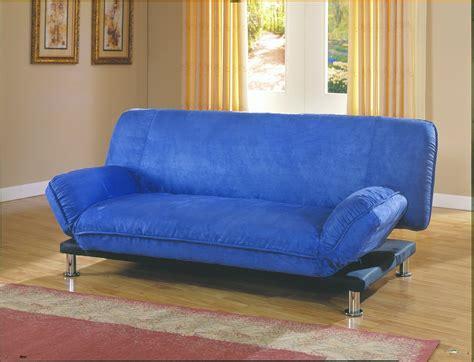 homelegance futon homelegance berry futon sofa blue microfiber 4786bl