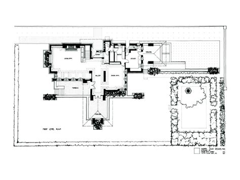 frank lloyd wright home and studio floor plan frank lloyd