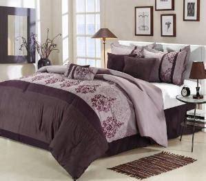 cheap price chic home 8 plum comforter set
