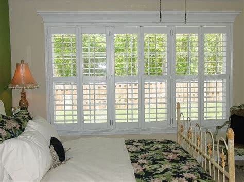 plantation shutters and drapes triple window plantation shutters google search