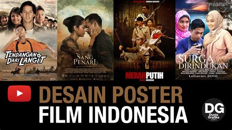 film indonesia yang rame ini dia desain poster film indonesia yang mirip