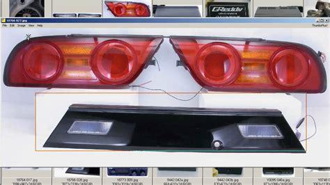 s13 clear tail lights rps13 s13 kouki tail lights taillights garnish sr20det