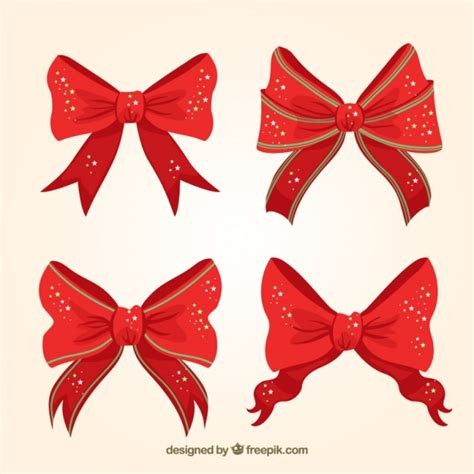 how to tie a christmas bow with ribbon bows with shiny vector free