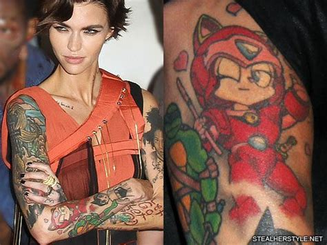 ruby rose new tattoo 34 character tattoos style