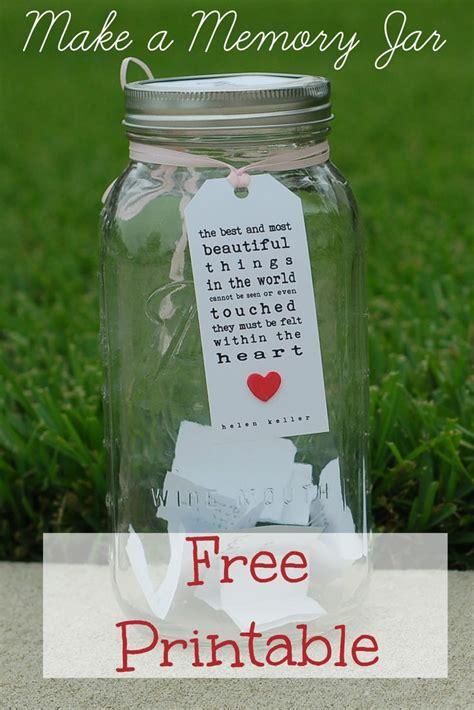 printable jar quotes memory jar free printable pinteres
