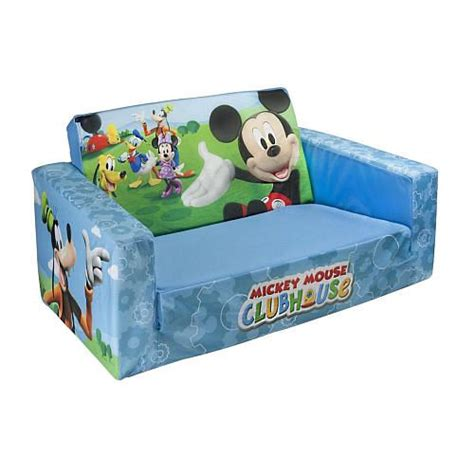 toys r us couch mickey mouse clubhouse flip open sofa spin master toys