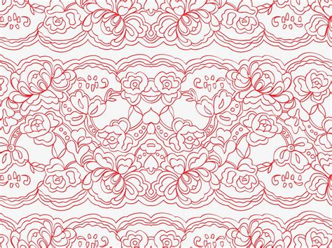 lace pattern ai free vector lace pattern