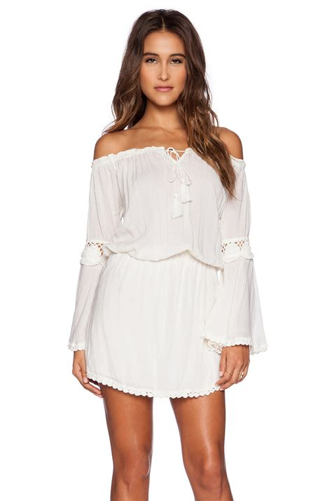 Sabrina White Dress cleobella sabrina dress in white lyst