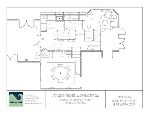 dining room floor plans transforming a 1980 s home tuscan blue design