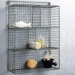 wire shelf rack by nkuku notonthehighstreet