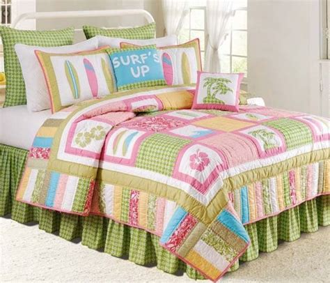 Surfer Comforter Sets by Surf S Up Tropic Quilts Accessories C F Tropical