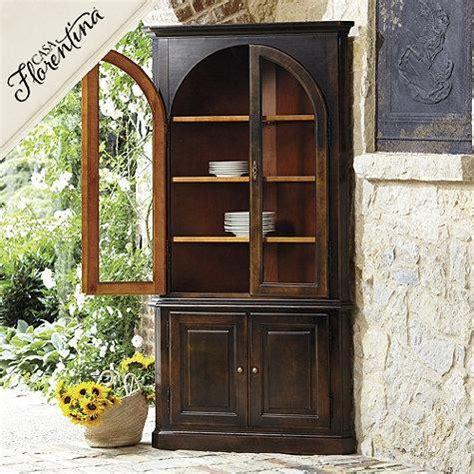 dark wood corner china cabinet casa florentina gabriele corner china cabinet in antique