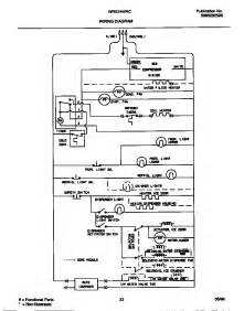 wiring diagram diagram parts list for model wrs22wrcw2 white westinghouse parts refrigerator