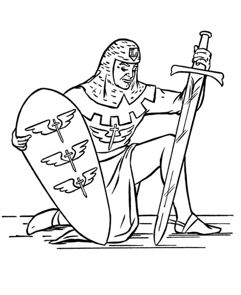 coloring page of knight in armor suit of armour coloring coloring pages