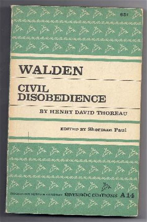 walden and civil disobedience book http www hodgepodgeusa coolbuild classics html