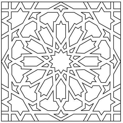 islamic tile coloring pages moorish tile coloring coloring pages coloring pages
