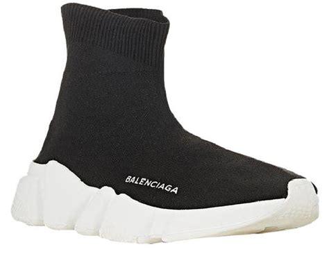 balenciaga black s knit high top sock sneakers us10 sneakers size eu 43 approx us 13