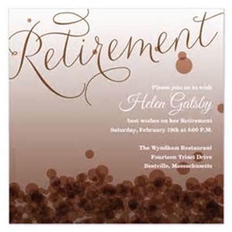 Free Retirement Invitation Template   Invitation Template