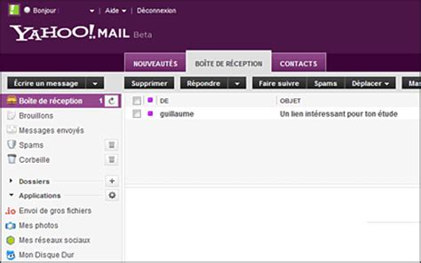 email yahoo fr que pensez vous de la toute nouvelle interface yahoo mail