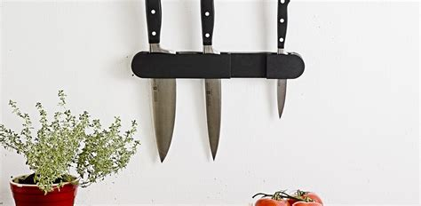 wall mounted knife holder in knife storage wall mounted knife holders