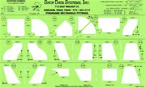 Sheet Metal Templates by Hvac Fitting Templates Rectanle Fitting