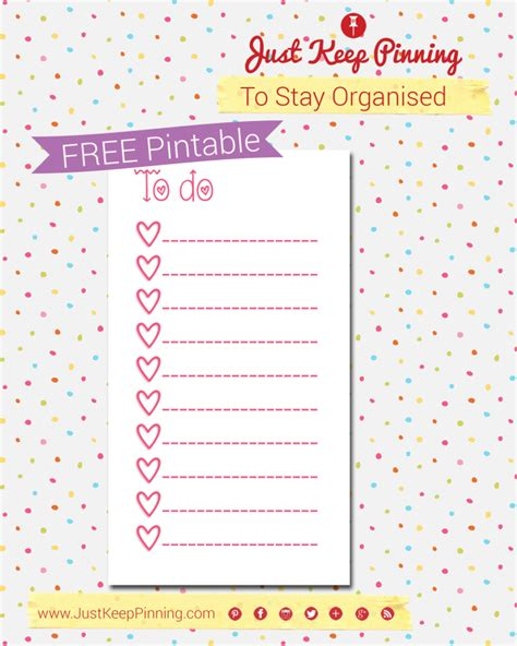 girly daily planner printable filofax friday free printable cute girly to do list by