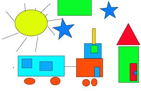 formas geometricas con imagenes coraz 243 n educacional formar y crear las figuras