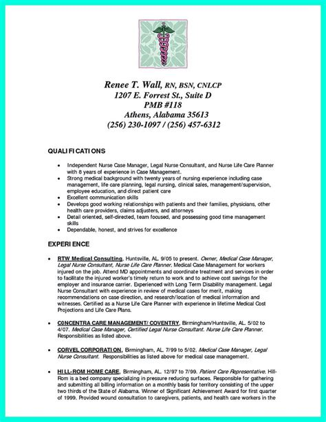crna resume exles 2695 best images about resume sle template and format