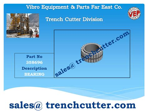 Spare Part Timor spare parts trench cutter d wall equipment