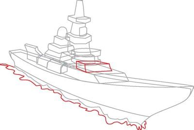 how to draw a navy boat 5 draw the waves how to draw navy ships in 8 steps
