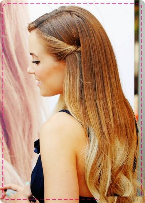 party hairstyles for long straight hair latest elegant party hair style for long hairs